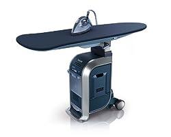 Philips GC9940/05 Kleidungspflegesystem (WardrobeCare, Optimal TEMP) blau/silber