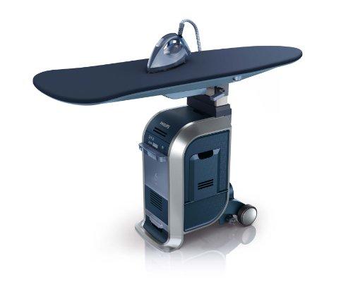 Preisvergleich Produktbild Philips GC9940 / 05 Kleidungspflegesystem (WardrobeCare,  Optimal TEMP) blau / silber