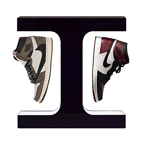 U/D 360° Rotating I-Shaped Magnetic Levitation Shoe Display Stand Floating Sneaker High Heels Cool Suspension Lamp Exhibitions Storefront-Shoes_500g-700g