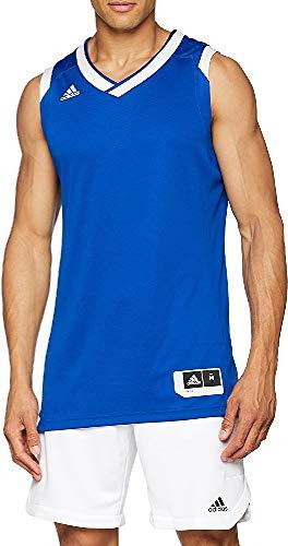 adidas Crzy Explo Jers Camiseta de Baloncesto, Hombre, Azul (Reauni/Blanco), S