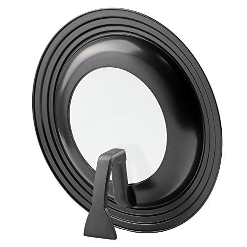 【BLKP】 パール金属 ふた 24-28cm用 窓付 スタンド式 限定 ブラック フライパン カバー BLKP 黒 AZ-5011