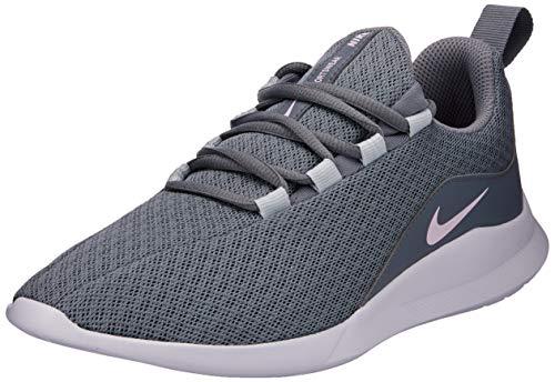 Nike Viale (GS), Scarpe da Campo e da Pista Donna, Multicolore (Cool Grey/Pink Foam/Pure Platinum/White 003), 35.5 EU