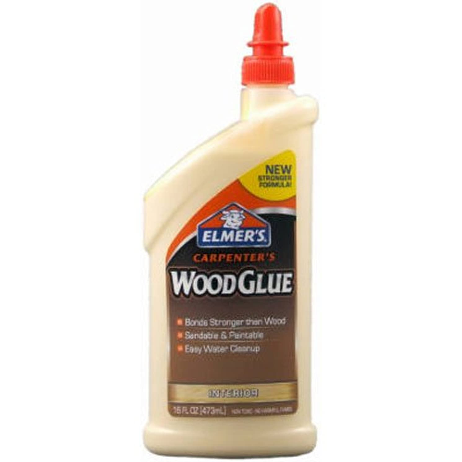 Elmer's Products, Inc E7020 Wood Glue, 16 oz, Tan xo617463802030