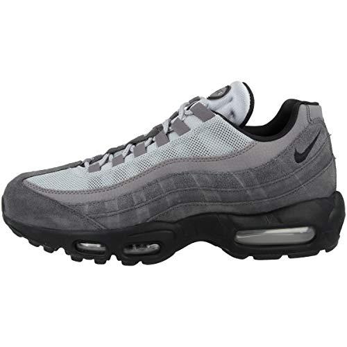 Nike Air Max 95 Essential, Chaussures de Running Mixte, Noir (Anthracite/Black/Wolf Grey/Gunsmoke 008), 41 EU