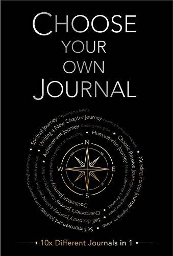 Piccadilly Escolha seu próprio diário | Caderno guiado | Encontre o propósito da sua vida | Papel creme sem ácido | 204 páginas