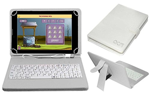 Acm USB Keyboard Case Compatible with Datawind Education 7