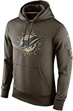 Miami Dolphins 2015 NFL Salute to Service Men's STS Hoody