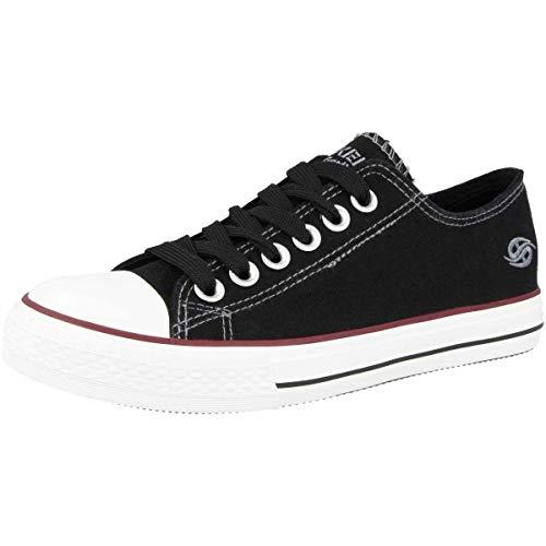 Dockers by Gerli Damen-Schuhe 36UR201-710100 Sneaker, Black 36ur201 710100, 40 EU