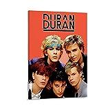 WVUR Duran Duran Poster dekorative Malerei Leinwand