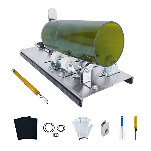 Donext Glass Bottle Cutter & Glass Cutter Kit DIY Machine for Cutting Mason...
