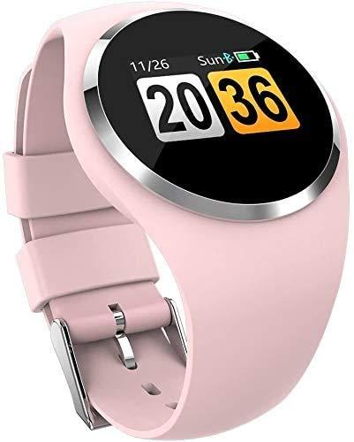 ZHENAO Fitness Tracker Bluetooth Smart Reloj, Monitoreo de Ritmo Cardíaco Monitor de Seguimiento Ip67 a Prueba de Agua Reloj para Mujer Fitness Tracker Calorie Podómetro Sueño Compa