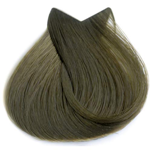 Tahe Organic Care Dauerhafter Farbstoff Haar-Farbe, Nein.7 Medium Blonde, 100 ml