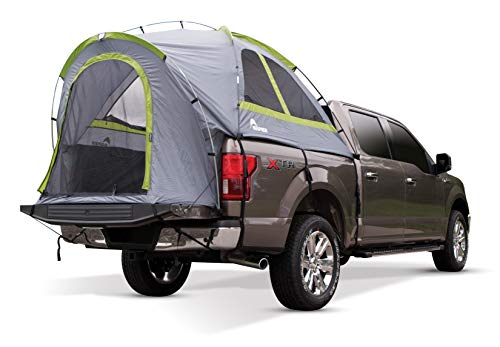 Napier Backroadz Truck Tent , Grey/Green, Full Size Regular Bed (6.4'-6.7')