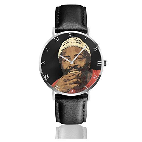 Orologio da Polso al Wrist Watch Analogue Quarzo con Cinturino in PU Watches Marvin Gaye