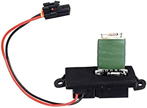 PartsSquare A/C Heater Blower Motor Resistor 89019089 RU371T Replacement for Chevrolet Silverado,GMC Sierra 1500/2500 1999-2007 Compatible with GMC Yukon 2000-2006 Resistor (2 hole mounting flange)