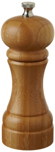 William Bounds 5-Inch Bamboo Chef Pepper Mill