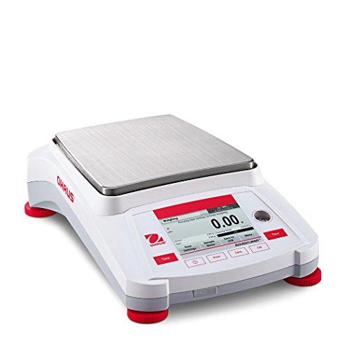 OHAUS AX4202/E Adventurer Balanza de precisión, capacidad de 4200 g, 0.01 g legibilidad