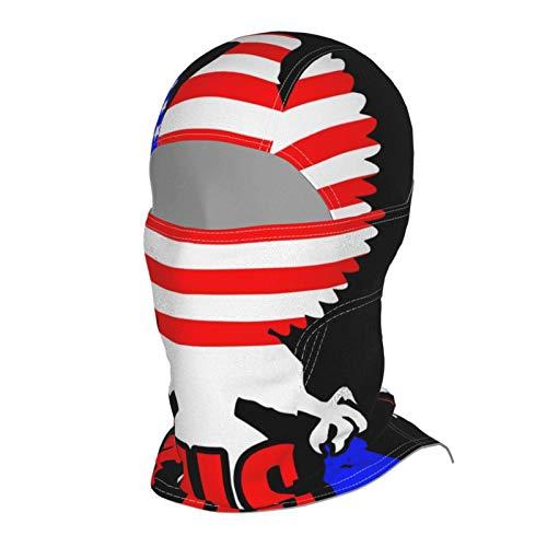 antkondnm American Eagle Coronavirus USA Balaclava Ski Mask for Men Windproof Thermal Winter Scarf Mask Women Neck Warmer Hood for Cycling Motorcycle Runnin