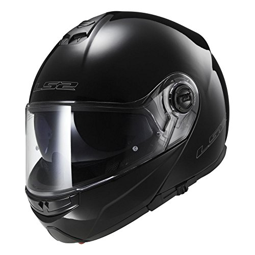 Casco moto LS2 STROBE Nero, Nero, XL
