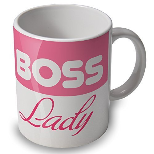 Boss Lady - Mug Cup - great gift for female bosses by verytea