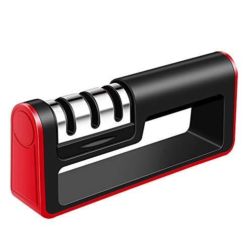 aiguiseur de couteaux , Affûteurs de couteaux et ciseaux , 3 en 1 antidérapant ergonomique pour l'affûteur de couteaux de cuisine professionnel, ustensiles de cuisine pour différents types de couteaux