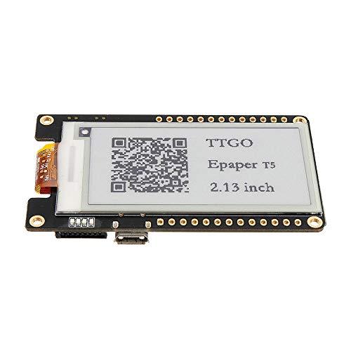 DIBAO T5 V2.0 Módulo de Radio WiFi Bluetooth Alkali ESP-32 ESP32 2.13 Tablero de Desarrollo de la Pantalla EPAPADOR