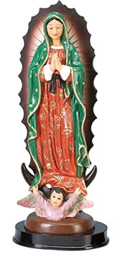 Catholic Gifts Our Lady of Guadalupe Blessed Virgin Mother Mary 8 Inch Statue