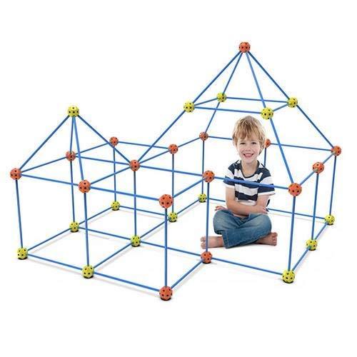 158 piezas Kids Fort Building Kit, Den Building Kits Construye tu propio...