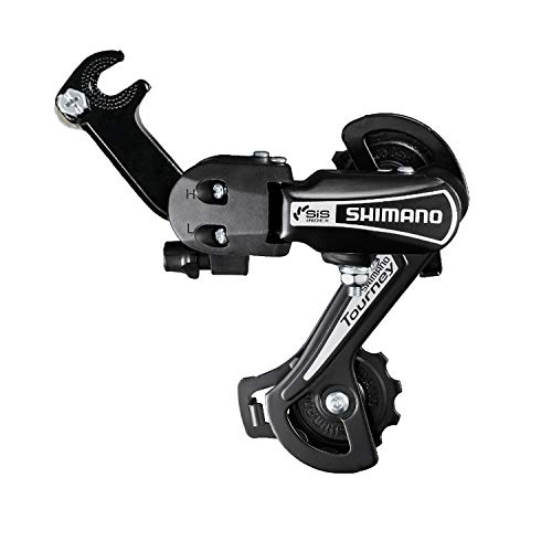 ZUKKA Bike Rear Derailleur,Shimano RD-TY21B 6/7 Speed Hub Bolt Mount for Mountain Bicycle (Black)