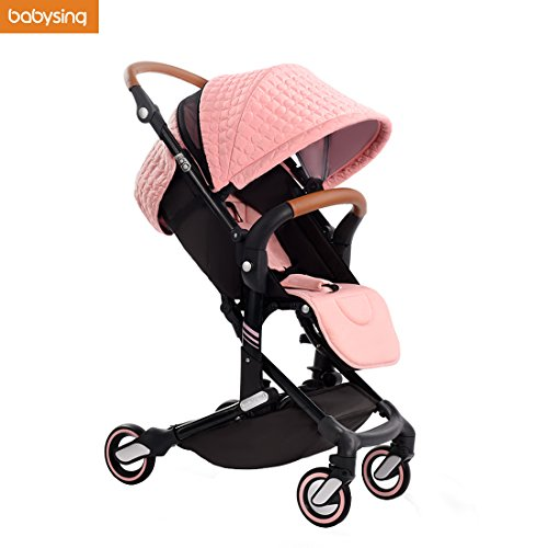 Babysing High View Lightweight Deluxe Convenience Stroller