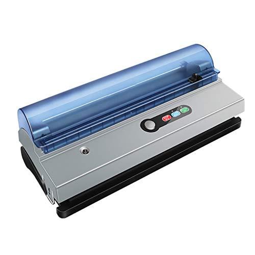 YHLZ Haushalts-Vakuummaschine Verpackungsmaschine for Gewerbe Lebensmittel Kompression Automatische Trocken- und Nassfutter Vakuumierer Einbau-Schneidemesser und Aufbewahrungstasche Zimmer
