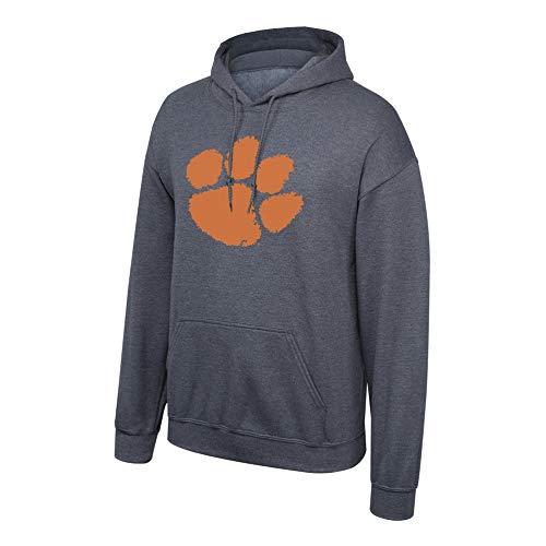 Top of the World Elite Fan Shop NCAA Hoodie Sweatshirt Dark Heather Icon, Herren, NCAA Hoodie Sweatshirt Dark Heather Icon, Clemson Tigers Dark Heather, Medium