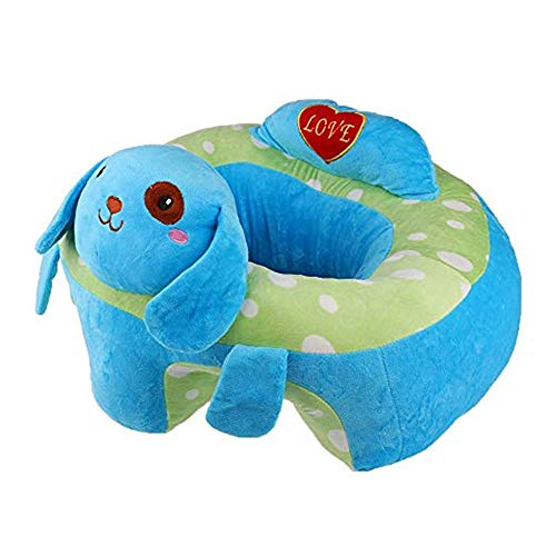 Great Price! Baby learning to sit on the sofa Baby Support Seat Sofa Plush Chair Colorful Infant Lea...