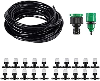 SIZOO - Garden Sprinklers - DIY Drip Irrigation System Automatic Watering Garden Hose Micro Drip Watering Kits With Adjust...