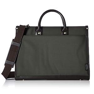 [ギャッツビー] メンズビジネスバッグ 撥水加工 A4対応 手提げ・肩掛け2WAY GB-301 カーキ