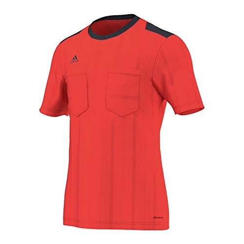 adidas UCL Ref JSY Maglia da Uomo, Rosso/Nero (Rojbri), S