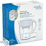 Aqua Optima Minerva Plus - Jarra de filtro de agua (2,5 L, 3 unidades)