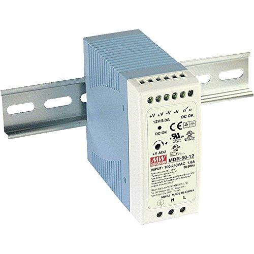 Preisvergleich Produktbild Mean Well mdr-60 24 Spannung-Trafo 40 mm,  90 mm,  100 mm