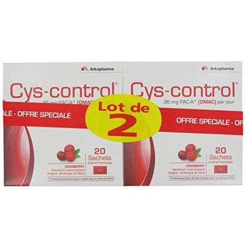 Cys-Control Lot de 2 x 20 Sachets Arkopharma by Arkopharma