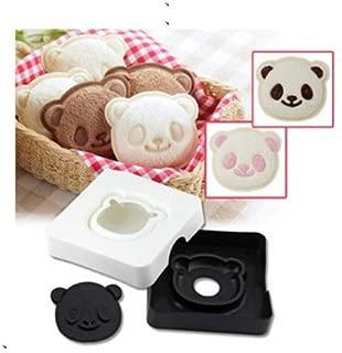 SQDeal Cute Panda Sandwich Cutter, Hand Tools Sandwich Kit Food Decoration Sandwich Mold Maker, Cookie Stamp Kit Toast Mold Mould Pocket Bread Cutter