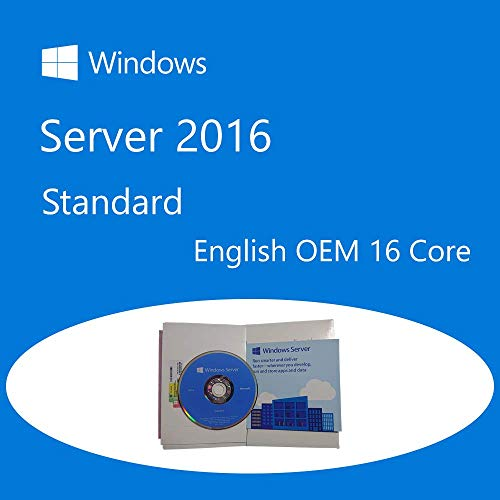 Windows Server Standard 2016 64bit English DSP OEM DVD 16 Core P73-07113