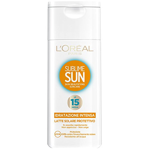 Sublime Sun Milch Sonnenschutz Mittel Lsf 15 200 ml
