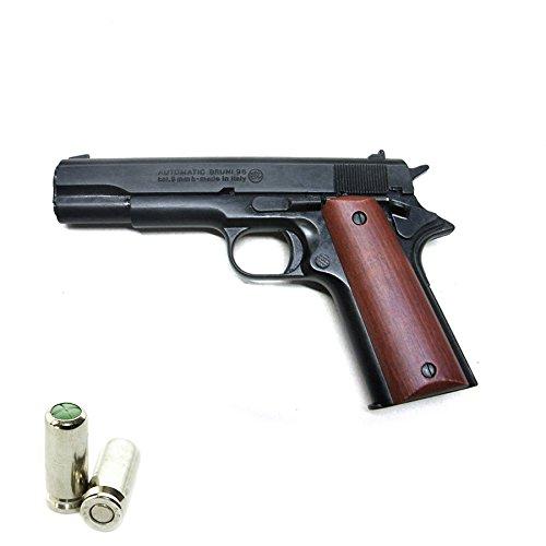 Pistola a Salve BRUNI Colt 1911 Cal.8 | Top Firing | Nera