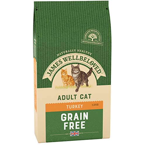 James Wellbeloved 19916/3863 Turkey and Vegetables Adult No Cereals Cat Food 1.5 Kg