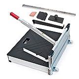 La guillotine de coupe 630 mm pour parquet stratifié avec roulettes/pour les professionnels