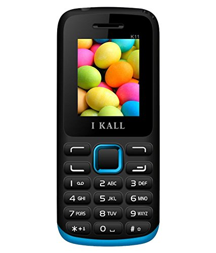 IKALL K11 Dual Sim Feature Phone Blue