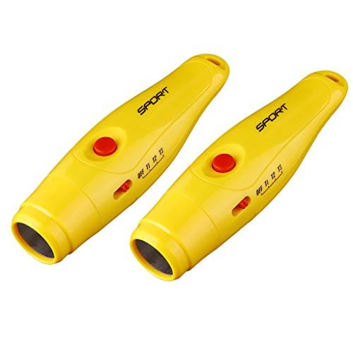 Toygogo 2X Sport Elektronische Pfeife 125 DB Für Trainer Volleyball Fußball