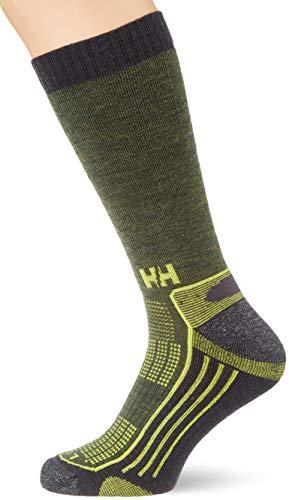 Helly Hansen Ascent Hiker Socken Unisex, Wood Green, 45-47
