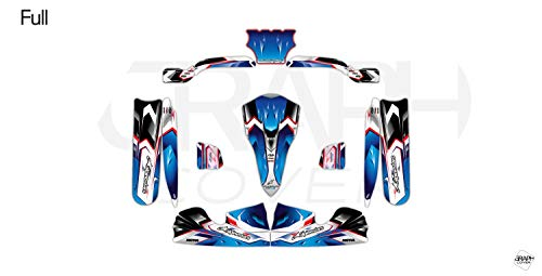 Kit Deco Karting OTK M4 Nurburgring Blu