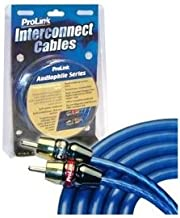 ProLink Audiophile Series Stereo RCA Interconnect Cables - 0.5 Meter/1.5 Feet